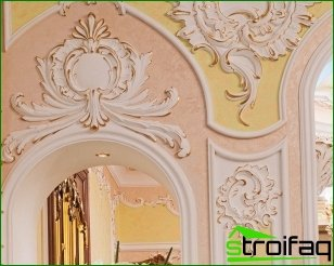 Advantages of plaster moldings