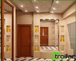 Decor hallway walls
