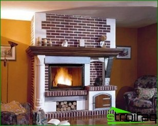 Fireplace as a design element