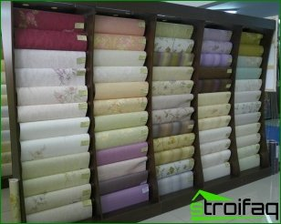 Types of wallpaper for the walls and their characteristics