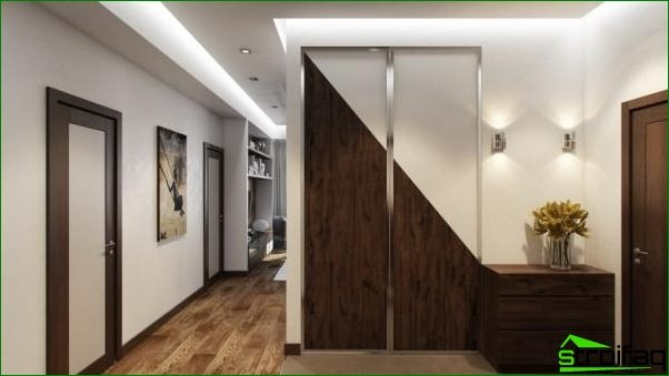 Recommendations for the design of a small hallway