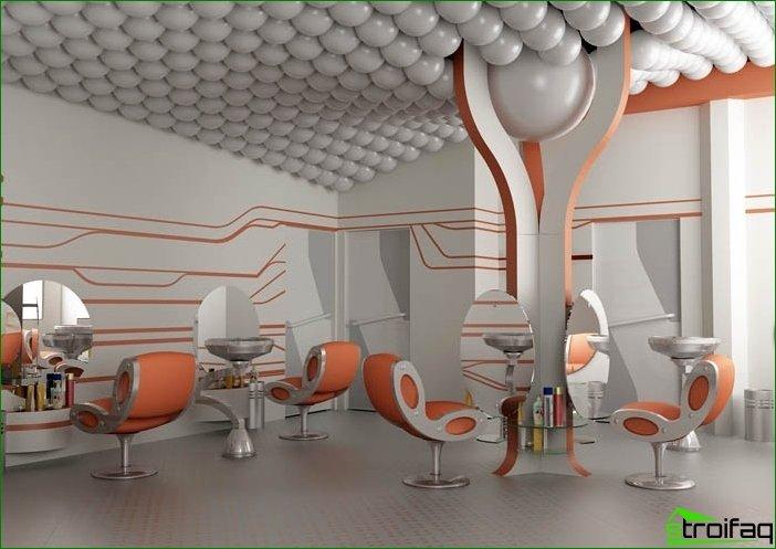Features of creation of interior public spaces