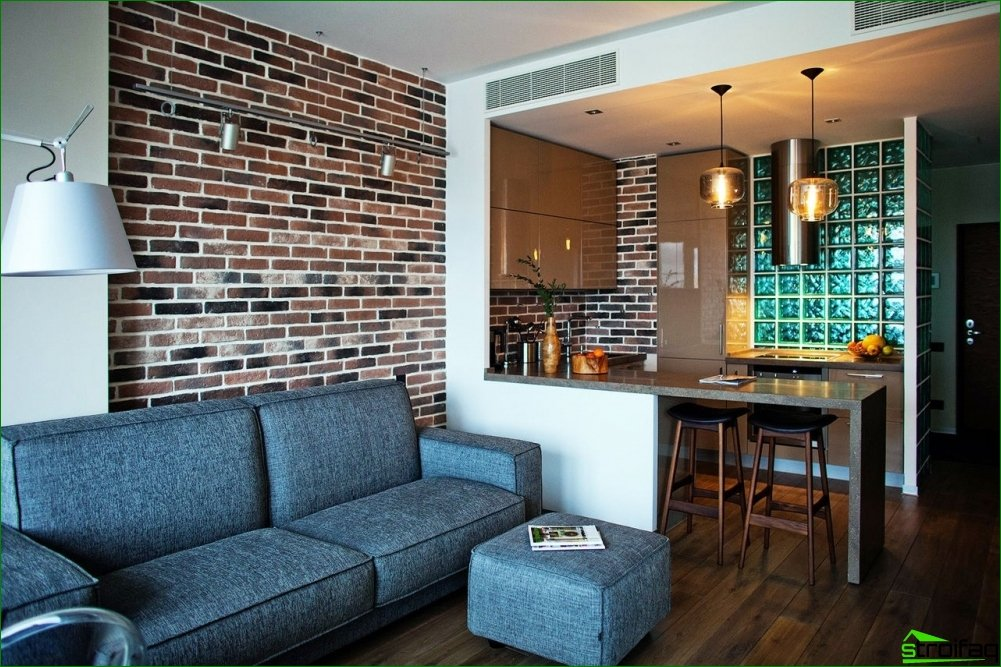 Interior decoration decorative brick