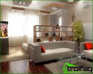 Design ideas for decorating apartments