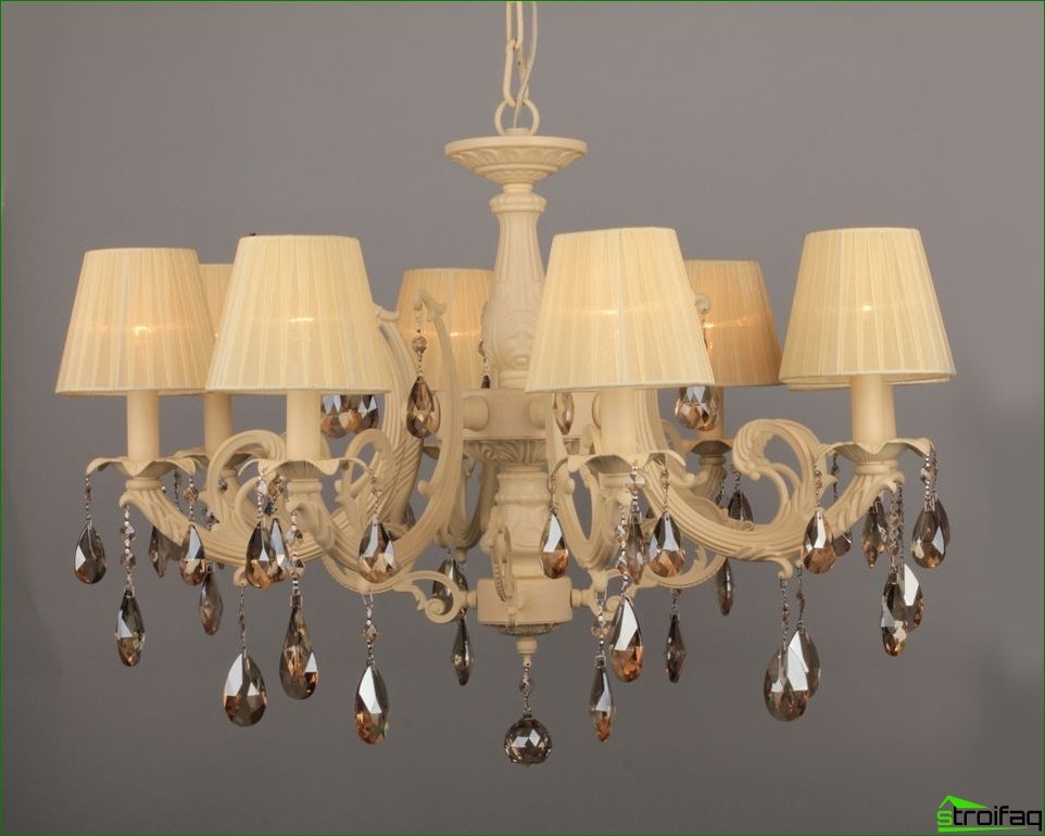 Recommendations for choosing a chandelier