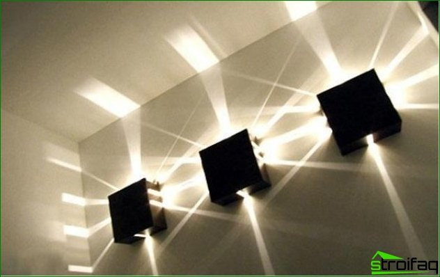 Recommendations regarding the selection of luminaires