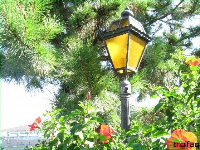 Varieties Park lights