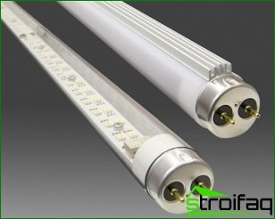 Fluorescent lamps and LED: a generational change