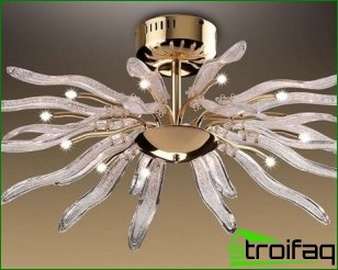 Types of modern chandeliers and their features