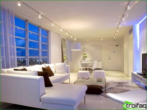 The pledge of comfort of any room - the right lighting