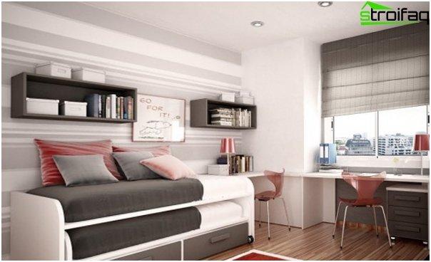 Roman blinds minimalism - 2