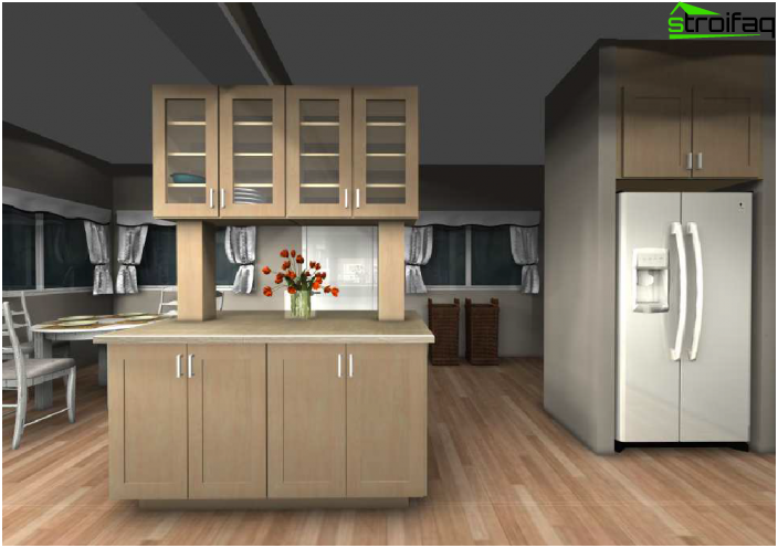Recessed cabinets for equipment from Ikea - 2