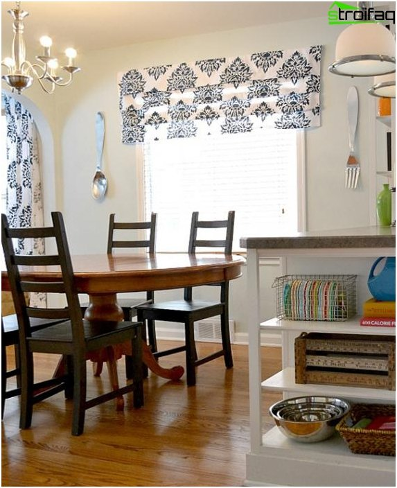 Roman blinds for the living room - 6