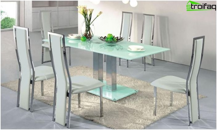Glass tables - photo 5