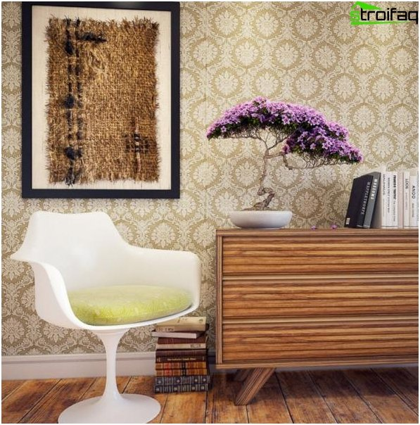 Sticking correct non-woven wallpaper 2
