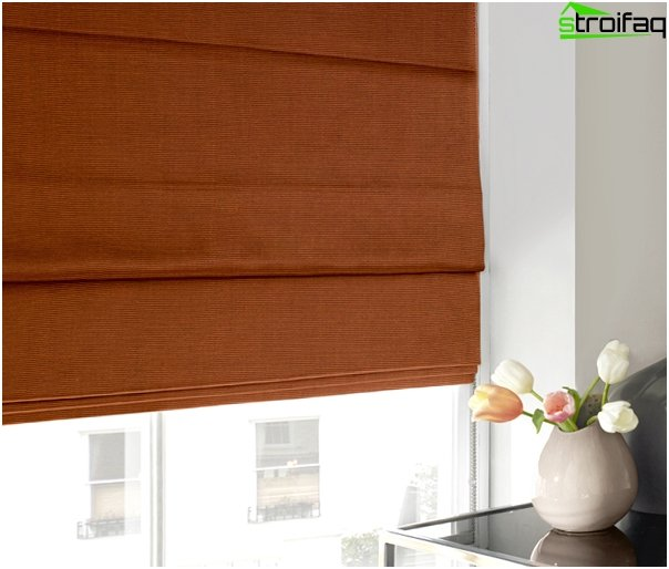 Roman blinds for the bedroom - 2