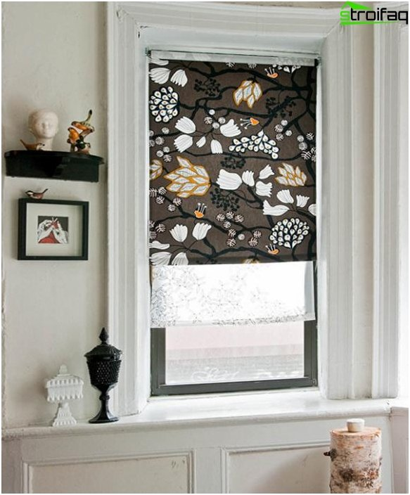 Roman blinds for the bedroom - 3