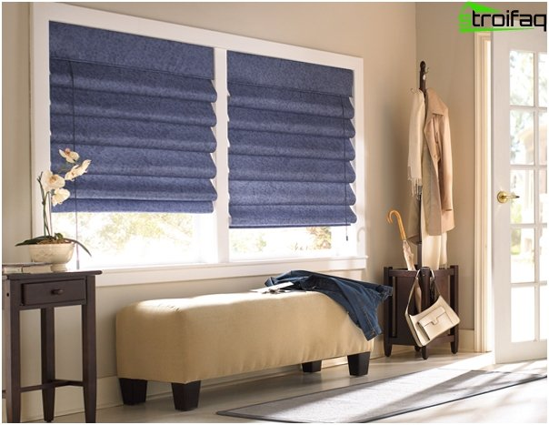 Roman blinds for the bedroom - 6