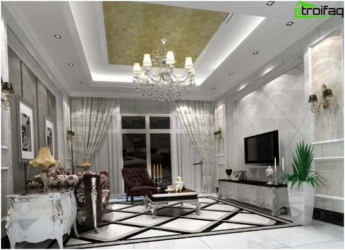 ceiling design - photo