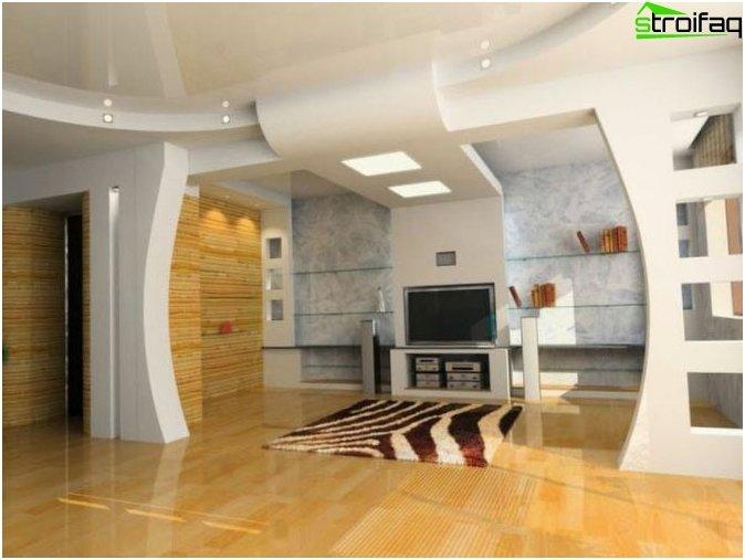 Parete Cartongesso Design: Pannelli pareti e soffitto in cartongesso ...