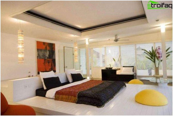 Design ceiling plasterboard