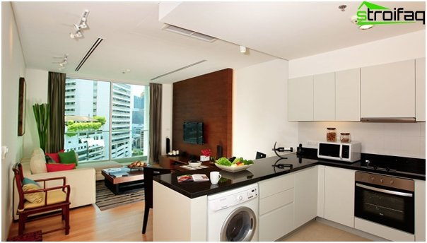Kitchen, combined with a living room - 05