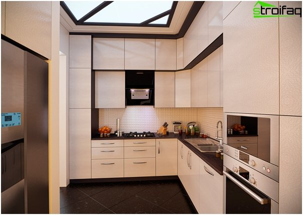 Design apartment in 2016 (kitchen) - 1