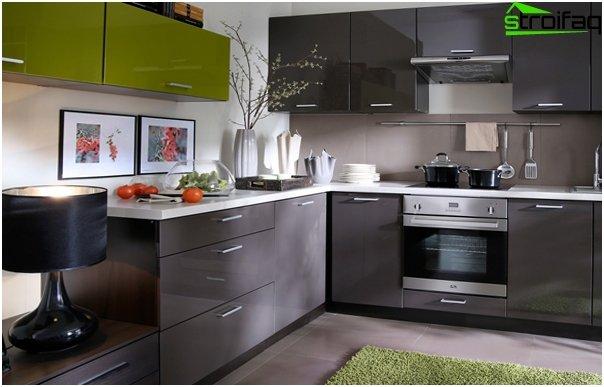 Design apartment in 2016 (kitchen) - 2