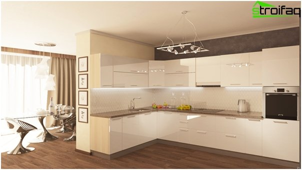 Design apartment in 2016 (kitchen) - 3