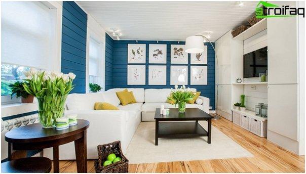 Design apartment in 2016 (living room) - 3