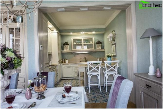 Kitchen in the style of provence photo 80 ideas for for Provence kitchen design