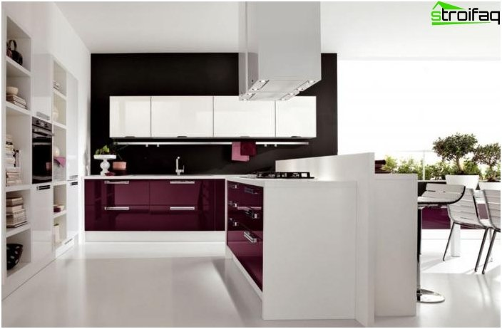 Photo modern kitchen design
