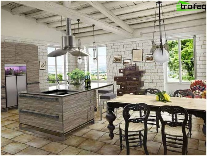 Provence style in kitchen design