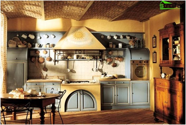 Kitchen in the style of Provence 3