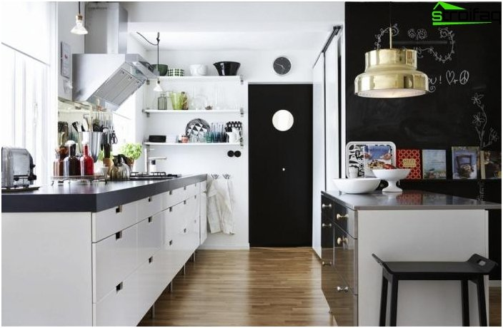 Scandinavian style kitchen 1