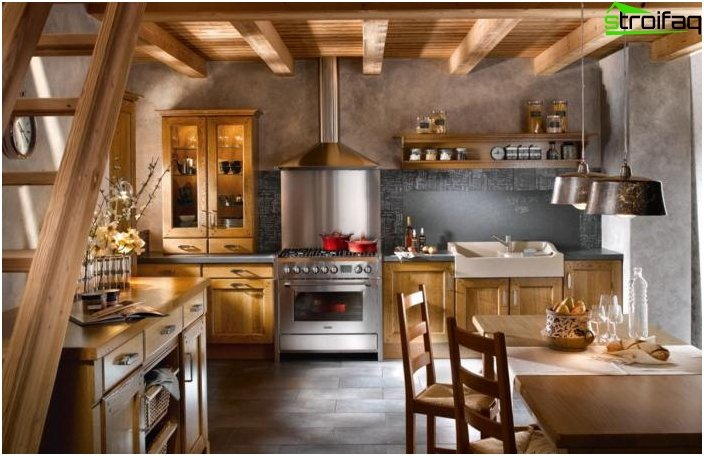 Kitchen in the style of Provence 1