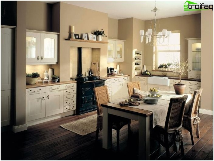 Kitchen in classical style 4
