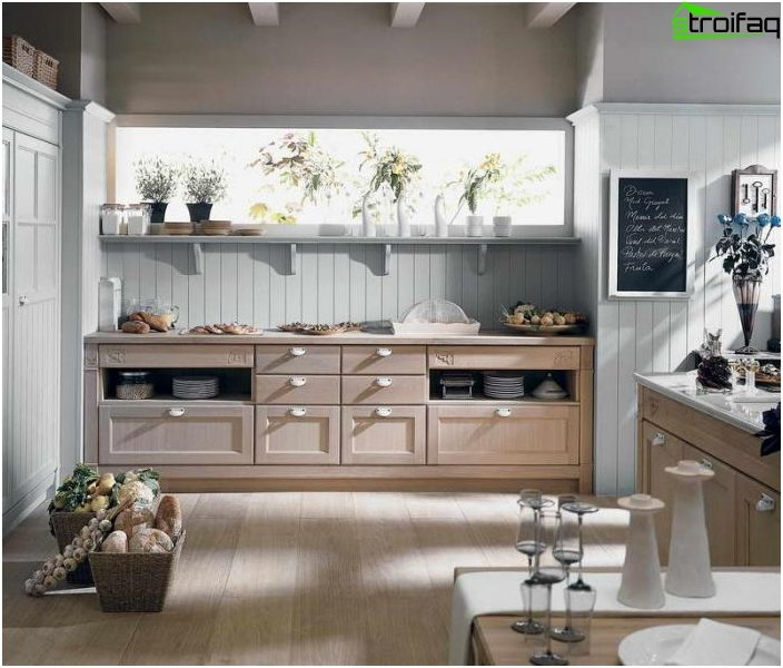 Kitchen 8-9 square meters