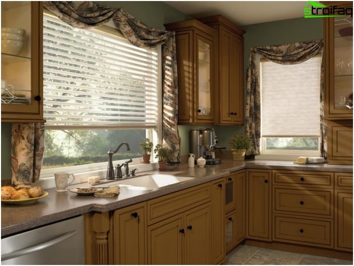Blinds Design for the kitchen - photo 2