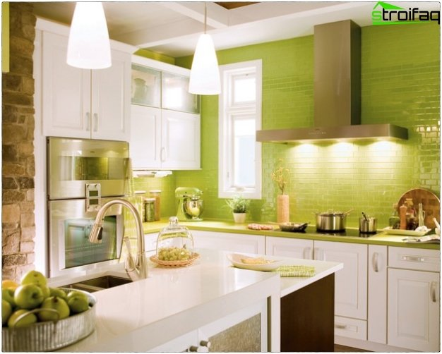 Kitchen Design 10 square meters - photo 2