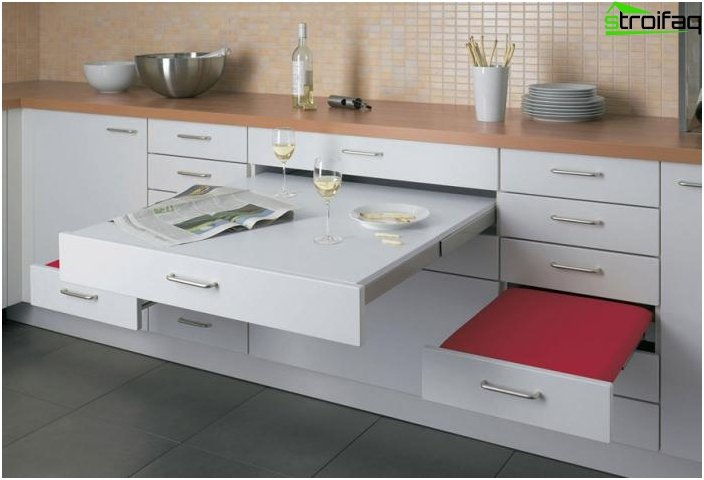 Plan kitchen 10 sq m