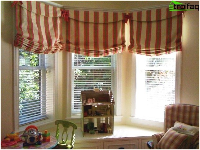 Roman blinds - photo 2