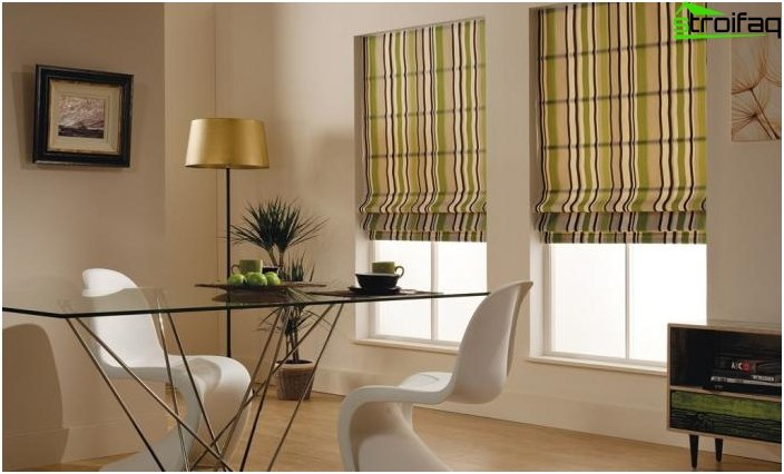 Roman blinds - photo 3