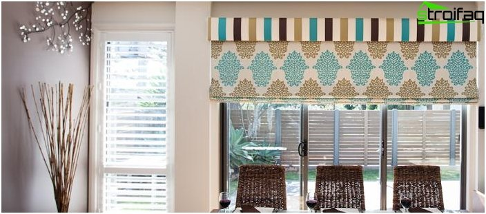 Roman blinds - photo 4