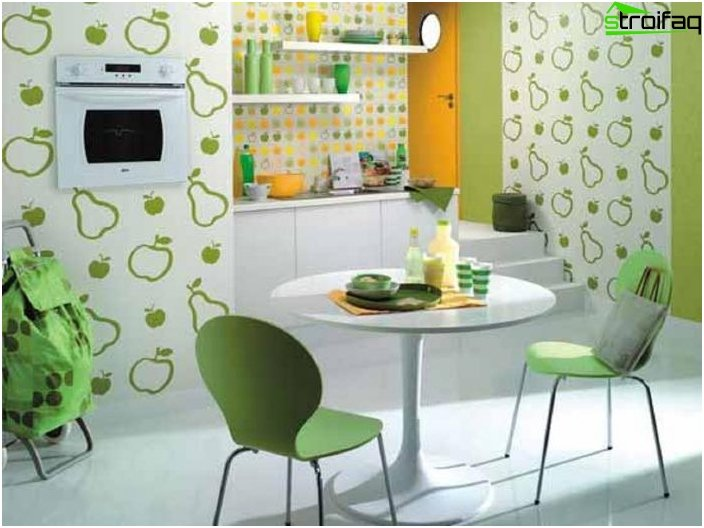 Wallpaper Design for the kitchen
