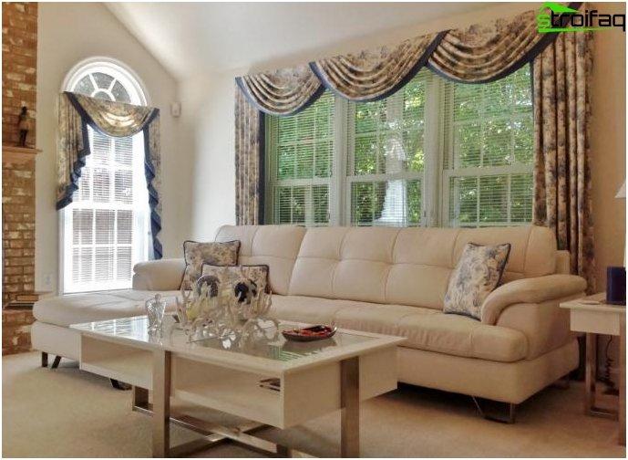 gardinen design - 50 fotos von vorhängen, die original-vorhänge, Wohnzimmer