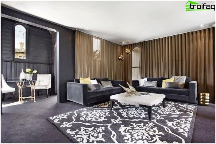 gardinen deko gardinen modelle f r wohnzimmer gardinen. Black Bedroom Furniture Sets. Home Design Ideas