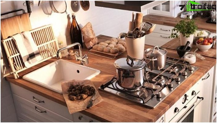 Plan kitchen 10 sq m - photo 8