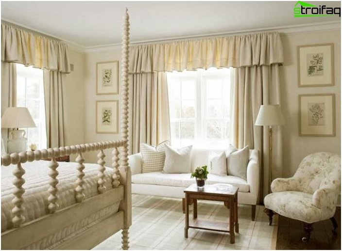 Curtains for the bedroom should bear comfort 4 photo
