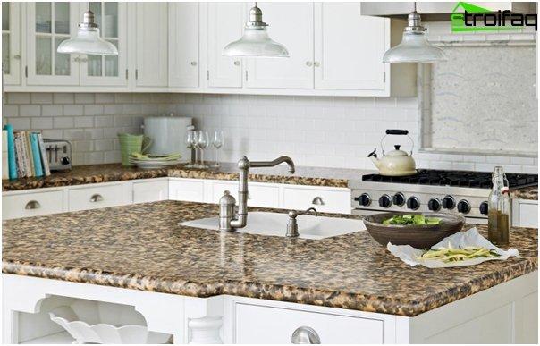 Tile in kitchen interior - 5
